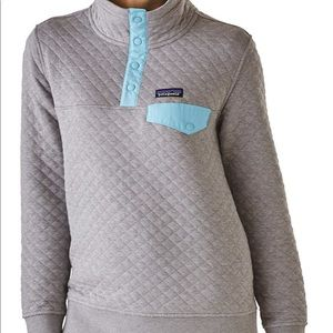 Patagonia quilt women's sweater